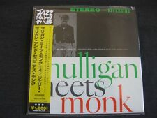 GERRY MULLIGAN, Mulligan meets Monk, JAPAN CD Mini LP, VICY-41724,Prestige 20bit