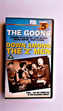 The Goons: Down among the Z Men VHS video Channel 5 CFV 06172, 1987. Vg condit'n