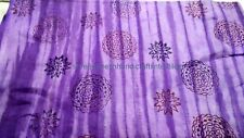 Indian Hand block Print Fabric Cotton Sanganeri Dabu Printed Fabric 5 Yard S_461