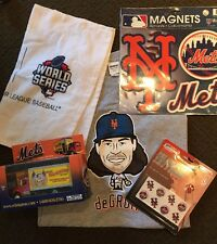 NY Mets T-shirt deGrom 2016 Giveaway + Tattoos + Rally Towel + Magnet + Truck
