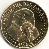 Monnaie de Paris - KINTZHEIM - MONTAGNE DES SINGES - 2 SINGES 2020