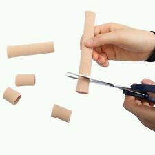 Gel Ribbed Tube Moisturizing Finger Toe Protector For Sore Corns - UK Supplier