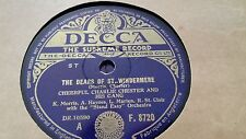 CHEERFUL CHARLIE CHESTER THE DEARS OF ST. WINDERMERE & MISTER MOON DECCA F8720