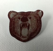Metal Pin Badge Brooch Bear Face Teddy Bear Animal Face