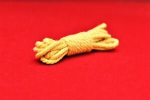 Vintage Action Man Repro Yellow Mountaineers / SAS  Rope  ( 120cm Long)