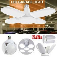 E27 LED Workshop Light Garage Deformable Ceiling Bright Lamp Bulb Home Office US