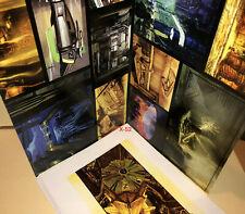 Blade Runner movie Syd Mead Concept Art Portfolio 8 Card Set (Pack-in) Spinner