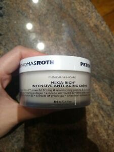 Peter Thomas Roth Mega Rich Intensive Anti-Aging Cream 3.4 Oz SEALED Fresh