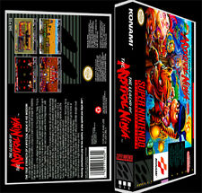 The Legend of The Mystical Ninja - SNES Reproduction Art Case/Box No Game.