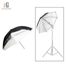 "Universal 33""/84cm Removable reflective black and white Softlight umbrella"