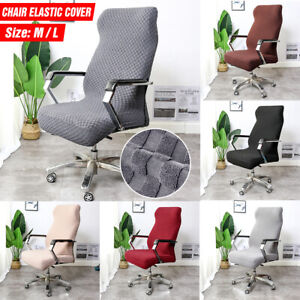Computer Chair Office Elastic Cover Anti-dirty Removable Chair Covers Meeting US
