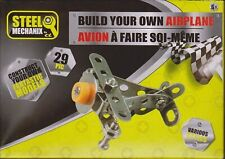 Steel Mechanix STEM Construction Mini Metal Airplane Model Kit