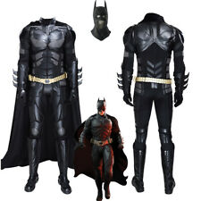 Batman Costume Cosplay Suit Bruce Wayne The Dark Knight for Adult Outfit