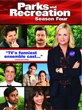 Parks And Recreation . The Complete Season 4 . Staffel . Amy Poehler . 4 DVD NEU