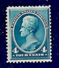 Attractive US #211 MINT-XLH 1883  4c Andy Jackson ~ Free Shipping!   [MC2]