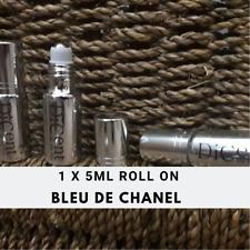 Bleu De Chanel Men Designer Inspired Pure Perfume Oil Mini Roll On