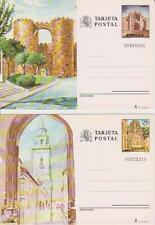 ESPAÑA 1983. Tarjetas entero-postales. Turismo: Avila/Lugo. Edifil 133-34