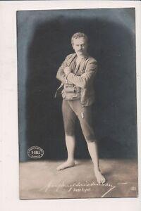 Vintage Postale Christensen As Peer Gynt Norvégien Acteur H. Abel Photo 1903