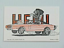 Rat Fink Big Daddy Roth Penny Arcade Card 1972 Exhibit Hemi Charger R/T 8810