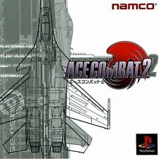 Used PS ONE Ace Combat 2 Namco PS 1 SONY PLAYSTATION JAPAN IMPORT