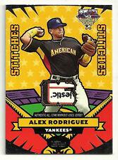 2006 Topps Update All Star Stitches Patch Alex Rodriguez