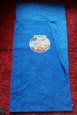 Blue fleece zipped sleeping bag+Nemo pillow