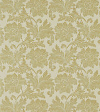 Zoffany Textured Floral WALLPAPER TADEMA Old Gold ZTES 311230 New