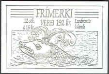 ICELAND (HM2) Scott 656-9, Legends Booklet, VF