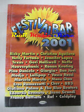 spartito FESTIVALBAR 2001 CARISCH 883 vasco rossi giorgia neffa cd lp mc dvd vhs