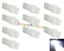 10x LED Light T10 W5W 501 Interior xenón lámpara blanca Cua Bombillas DC 12V