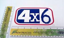 Pace Trailer - 4'x6' Worksport Sticker - Part #670325 (from OEM supplier)