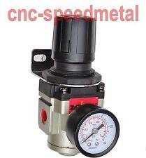 """1/4"""" Druckminderer Kompressor Manometer Wartungseinheit Regler 5°C-60°C 01572"""