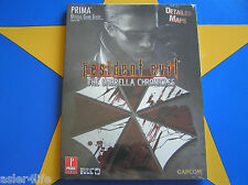 RESIDENT EVIL THE UMBRELLA CHRONICLES - STRATEGY GUIDE (NEW)