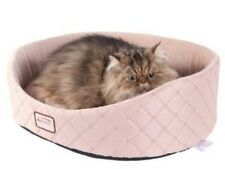 """Aeromark Armarkat Cat Bed, Light Apricot C35HFS/FS Cat Bed 21""""L x 21""""W x 8""""H NEW"""