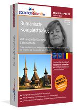 Sprachkurs RUMÄNISCH Komplett-Paket DVD Kurs Basis Aufbau Fach Sprachenlernen24