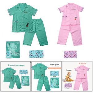 Child Pretend Play Doctor Uniform Fun Role Play Costume Dress Up Set Playset
