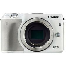 USED Canon EOS M3 Mirrorless Body White Excellent FREE SHIPPING