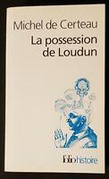 La possession de Loudun. Michel de Certeau | Livre | état très bon