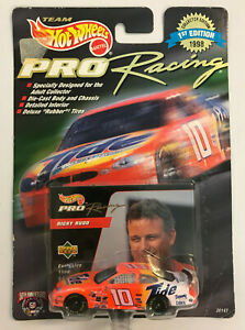 HOT WHEELS PRO RACING RICKY RUDD FORD TIDE DIE-CAST MODEL CAR 1998 1st EDITION