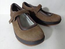 MBT Kaya EUR 39 US 8.5M Brown Leather Mary Jane Rocker Walking Shoe VIETNAM