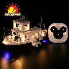 Led Light Kit for  LEGO Steamboat Disney Mickey 21317 (Singapore Seller)