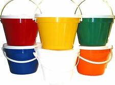 Wholesale Lot 50 1 Gallon Buckets and Lids-6 Color Choices Mfg Usa Food Safe
