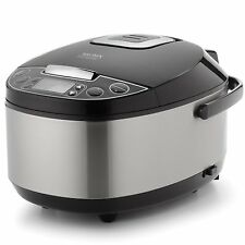 Aroma Professional 12Cup Egg Shape Digital Rice Cooker, Slowcooker, Food Steamer