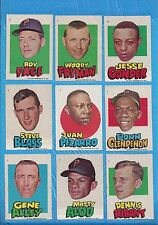 1967 PIRATES STICKERS TOPPS 27 DIFF ROBERTO CLEMENTE WILLIE STARGELL GENE ALLEY