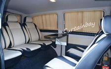 Mercedes Vito Viano (638,639) curtain set for 2 side windows curtains grey color
