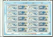 Preserve the Polar Regions and Glaciers India Sheet of 20, 2 x Blocks of 4, MUH.