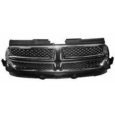 for 2011 2012 2013 Dodge Durango FT Front Grille Chrome/Black, Dealer Installed