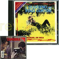 """RARO CD OST 1994 """"IL GIARDINO DEI FINZI CONTINI / CAMORRA"""" MANUEL DE SICA"""