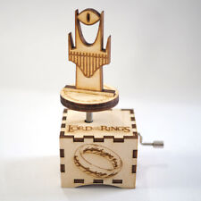 Lord of the Rings Music Box - Main Theme -Laser cut and laser engraved wood musi