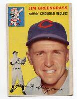 1954 Topps #22 Jim Greengrass, Cincinnati Reds